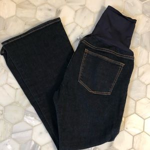 GAP Maternity Sexy Boot Jeans Full Panel
